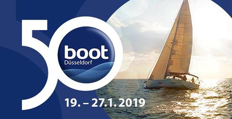 Приглашаем на яхтенную выставку BOOT 2019 в Дюссельдорфе с 19 по 27.01.2019