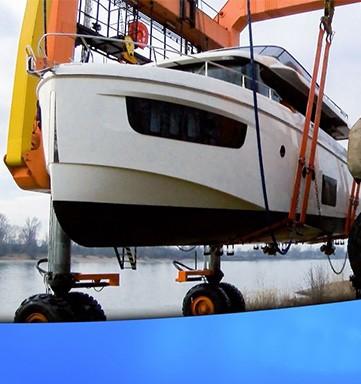 Посадочная полоса для яхт
