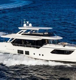 Обзор яхты Absolute Navetta 73